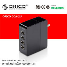 Dispositivos de carregamento USB ORICO de 4 portas, carregador usb de dispositivo múltiplo, carregador USB 240V