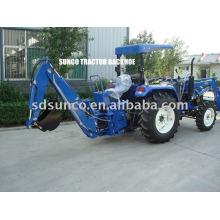 Tractor hidráulico retroexcavadora LW-7
