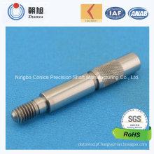 China Fornecedor CNC Usinagem Precision Dual Diâmetro Eixo