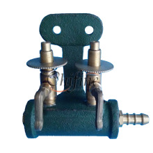 Cast Iron Base and Control Valve for Gas Burners