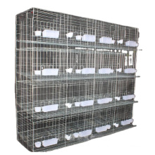 Cheap 3 layers galvanized antirust animal house pigeon breeding cage