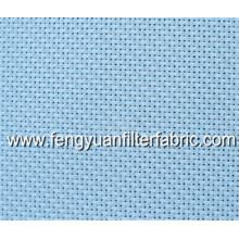 China 100% poliéster liso tecido transportador Mesh Belt / filtro de líquido pano / tecido de filtro