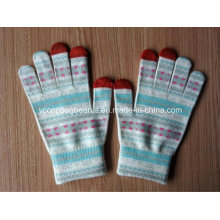 100% Acrylic Magic Sublimation Printing Touch Screen Gloves