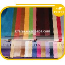 Tissu de taffetas à carreaux en polyester teint en soie