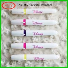 Non-toxic highlighter color wet erase marker