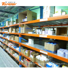 steel boltless medium duty warehouse rack shelving