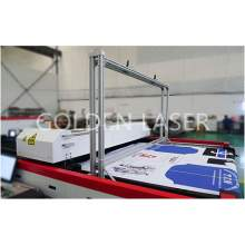 Flying Scan Sublimation Fabric Laser Cutting Machine