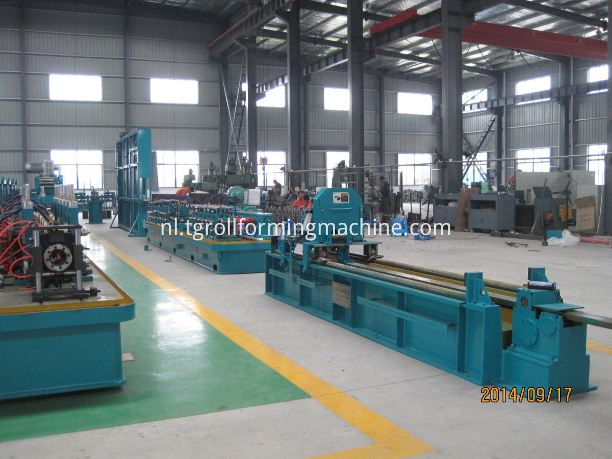Steel Tube Mill Making Machine
