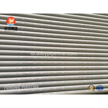 ASTM A269 TP304 Steel Tube 100% Eddy Current Test & Uji Hidrostatik