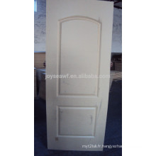 Peau de porte extérieure de haute qualité / porte moulée Peau de porte de peau / placage