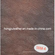 PU искусственной кожи мебели диван кожаный