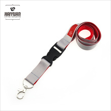 Full Color Sublimation Printing Lanyard with Plastic Buckle