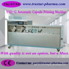 Cápsula y cápsula cápsula cámaras completas impresora automática de la cápsula