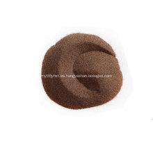 Filtros de tratamiento de agua Material de filtración Granate
