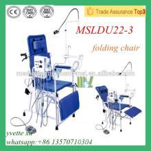 MSLDU22-3M Luxus Folding Dental Stuhl Chinesisch Faltbare Dental Stühle