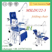 MSLDU22-3M Luxury Folding Dental Chair Chinese Foldable Dental Chairs