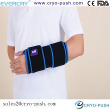 Paquete de hielo para aliviar el dolor con envoltura para terapia de calor y frío - Paquete de gel flexible nuevo y mejorado para tratar lesiones deportivas