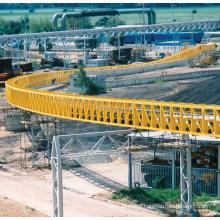 Ske Large Inclination Upward Belt Conveyor System for Material Handling