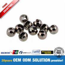 Fly Tying Wolfram Beads Black Nickel Electroplated