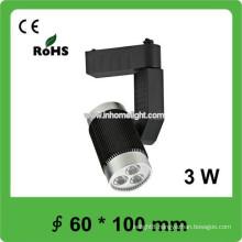 high lumen 3w led track light,high power led track spot light