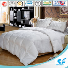Wholesale Hotel White Polyester Filling Cotton Fabric Duvet