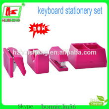 new desgin office stationery set tape dispenser and stapler