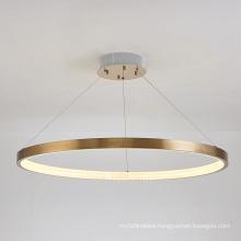 Hot Sale chandelier luxury hanging lamp modern round acrylic pendant lamp lighting