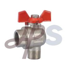 brass angle ball valve