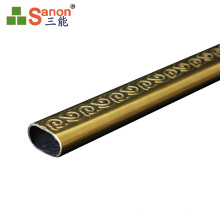 Sanon Customized Various Shaped Round / Rectangle / Oval AISI Stainless Steel 316 color Pipe