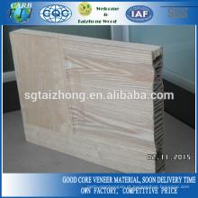 Natural ranhura 44mm moldado porta