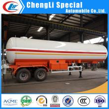 2 eixos de transporte de gás 20mt 20ton 40000liters LPG caminhão-cisterna para a Mongólia