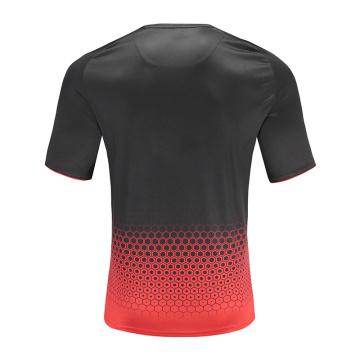 Camiseta de fútbol Dry Fit para hombre roja