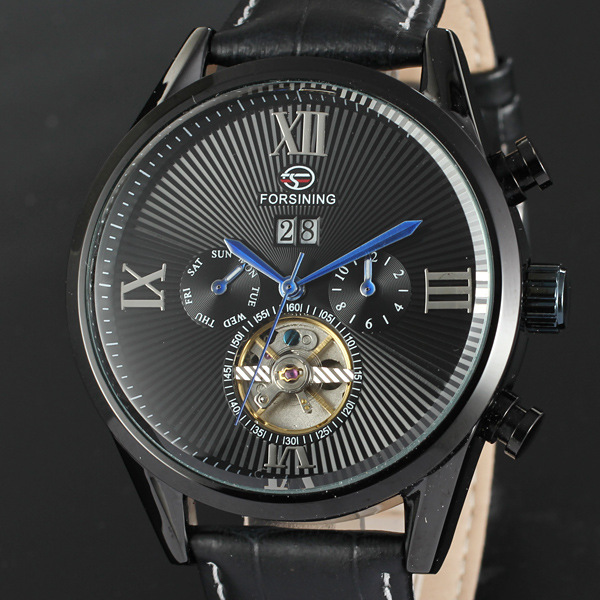3Atm water resistant alloy case mechanic watch