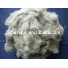 Chinese Dehaired And Carded Mink Wool Fiber 14.5mic/12mm With Factory Price