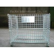 Cage en acier pliable galvanisée