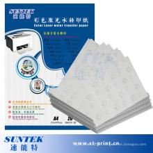 A4 Laser Papel Transfer Wasser Rutsche Abziehbild-Papier (STC-T06)