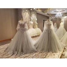 Neue Ankunfts-2017 Mehrfarbenspitze-Hochzeits-Hochzeits-Kleider