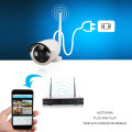 Wireless IPC H.264 NVR Security Kits for IP Camera factory price