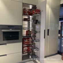 Panier d'ascenseur de cuisine réglable à fermeture douce