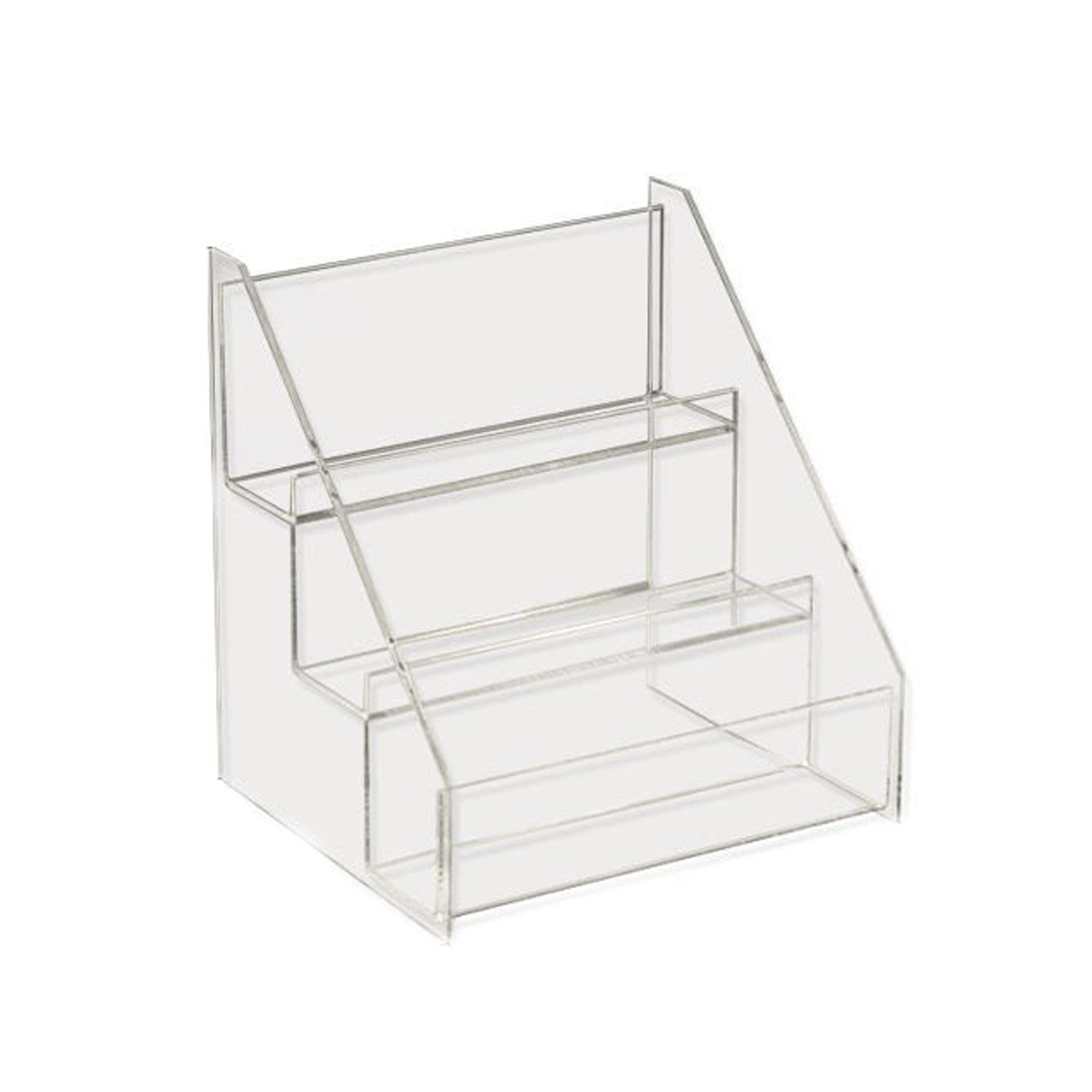 Pure Acrylic Counter Top Cosmetic Display Case