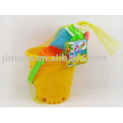 Children Plastic Sand Toys(6in1) with Many Design for Choice