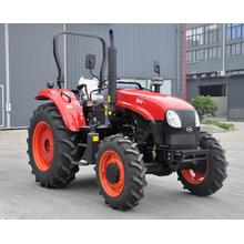 Pertanian 4 Wheel Drive 90 HP Wheel Tractors With Cab