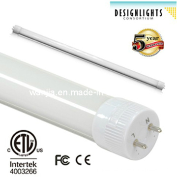 Two Ends Rotatable LED T8 Tube with Dimmable Dlc