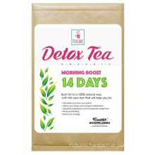 Organic Herbal Detox Tea Slimming Tea Weight Loss Tea (14 day morning boost tea)
