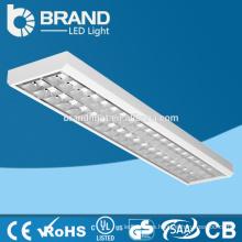 Lámpara empotrada empotrable T8 de alta luminancia de 2x18W