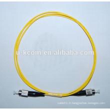 FC / UPC-FC / UPC Câble de connexion à fibre optique Simplex SM