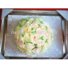 2014 nova bola de flor de seda artificial quente beijando bola rosa para a decoração do casamento do partido