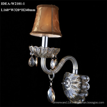 hotel wall sconces glass decoration lighting