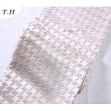 Розовый Синель Жаккард ткань 410GSM