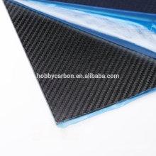 Multirotor / Multicopter Haute Qualité 2.0x400x500mm Carbone Plaque Mat Sergé Plaque / Feuille Prix Fabricant pour Machine de Découpage